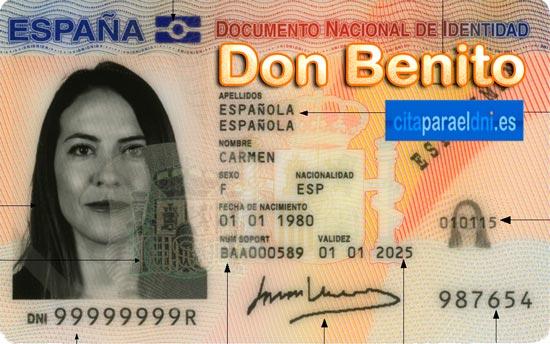 Cita previa para el DNI en Don Benito – Oficina del DNI y Pasaporte - Para sacar por primera vez o renovar el DNI electronico, antiguo Carnet de Identidad, y el pasaporte