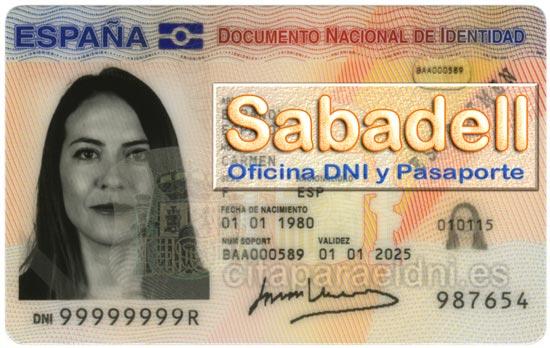 Cita previa DNI Sabadell – Oficina DNI y Pasaporte - Para obtener por primera vez o renovar el DNI y el pasaporte