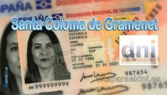 Cita previa DNI Santa Coloma de Gramanet – Oficina DNI y Pasaporte - Para obtener por primera vez o renovar el DNI y el pasaporte