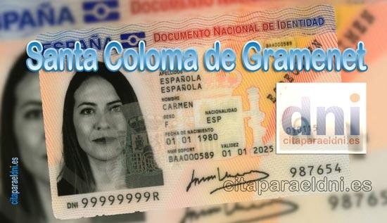 Cita previa DNI Santa Coloma de Gramenet – Oficina DNI y Pasaporte - Para obtener por primera vez o renovar el DNI y el pasaporte