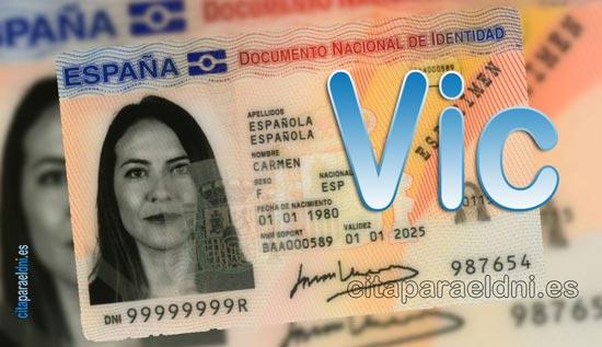 Cita previa DNI Vic – Oficina DNI y Pasaporte - Para obtener por primera vez o renovar el DNI y el pasaporte