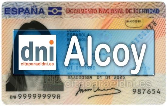 Cita previa DNI Alcoy – Oficina DNI y Pasaporte - Para obtener por primera vez o renovar el DNI y el pasaporte