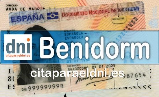 Cita previa DNI Benidorm – Oficina DNI y Pasaporte - Para obtener por primera vez o renovar el DNI y el pasaporte