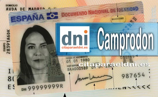 Cita previa DNI Camprodon – Oficina DNI y Pasaporte - Para obtener por primera vez o renovar el DNI y el pasaporte