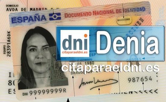 Cita previa DNI Denia – Oficina DNI y Pasaporte - Para obtener por primera vez o renovar el DNI y el pasaporte