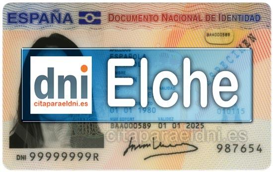 Cita previa DNI Elche – Oficina DNI y Pasaporte - Para obtener por primera vez o renovar el DNI y el pasaporte