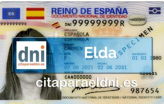 Cita previa DNI Elda – Oficina DNI y Pasaporte - Para obtener por primera vez o renovar el DNI y el pasaporte