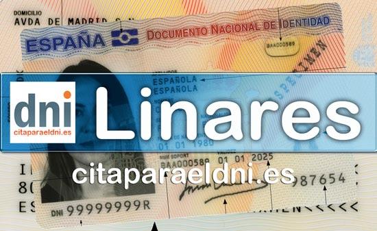 Cita previa DNI Linares – Oficina DNI y Pasaporte - Para obtener por primera vez o renovar el DNI y el pasaporte