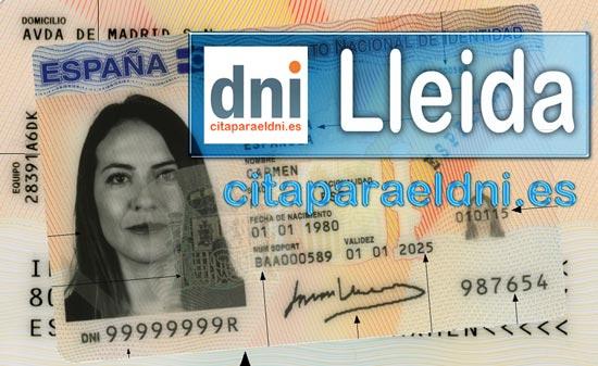 Cita previa DNI Lleida – Oficina DNI y Pasaporte - Para obtener por primera vez o renovar el DNI y el pasaporte