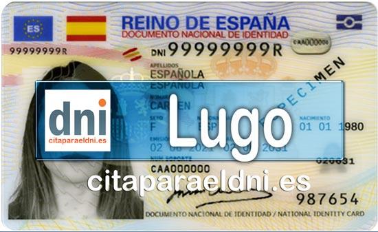 Cita previa DNI Lugo – Oficina DNI y Pasaporte - Para obtener por primera vez o renovar el DNI y el pasaporte