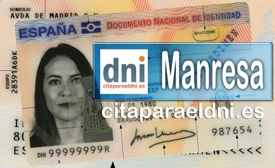 Cita previa DNI Manresa – Oficina DNI y Pasaporte - Para obtener por primera vez o renovar el DNI y el pasaporte