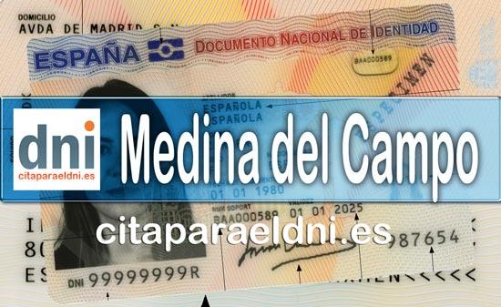 Cita previa DNI Medina del Campo – Oficina DNI y Pasaporte - Para obtener por primera vez o renovar el DNI y el pasaporte