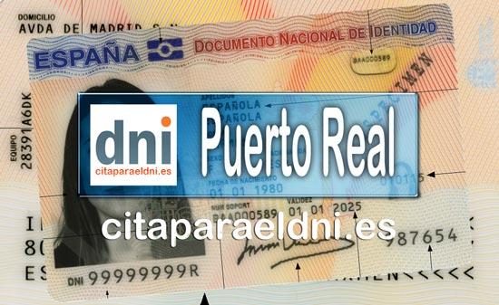 Cita previa DNI Puerto Real – Oficina DNI y Pasaporte - Para obtener por primera vez o renovar el DNI y el pasaporte