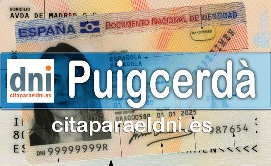 Cita previa DNI Puigcerdà – Oficina DNI y Pasaporte - Para obtener por primera vez o renovar el DNI y el pasaporte