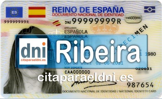 Cita previa DNI Ribeira – Oficina DNI y Pasaporte - Para obtener por primera vez o renovar el DNI y el pasaporte
