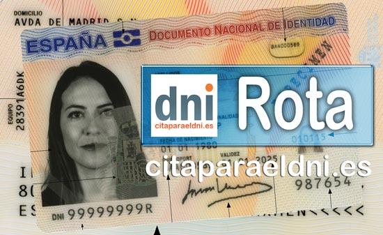 Cita previa DNI Rota – Oficina DNI y Pasaporte - Para obtener por primera vez o renovar el DNI y el pasaporte