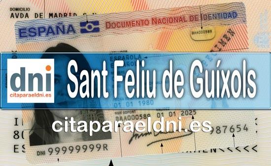 Cita previa DNI Sant Feliu de Guíxols – Oficina DNI y Pasaporte - Para obtener por primera vez o renovar el DNI y el pasaporte