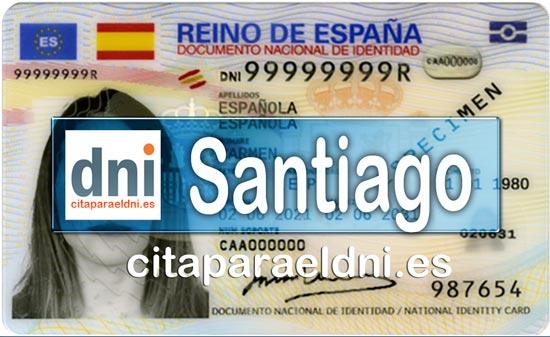 Cita previa DNI Santiago de Compostela – Oficina DNI y Pasaporte - Para obtener por primera vez o renovar el DNI y el pasaporte