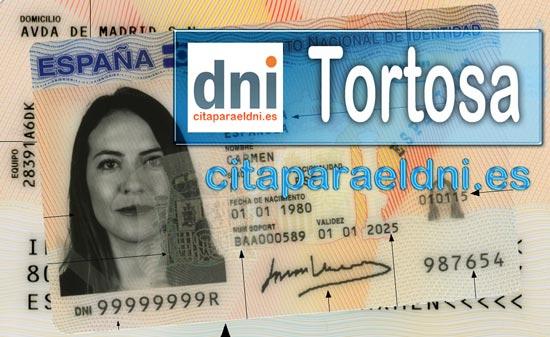 Cita previa DNI Tortosa – Oficina DNI y Pasaporte - Para obtener por primera vez o renovar el DNI y el pasaporte