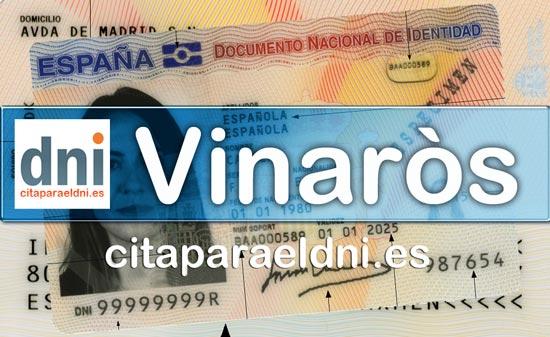 Cita previa DNI Vinaròs – Oficina DNI y Pasaporte - Para obtener por primera vez o renovar el DNI y el pasaporte