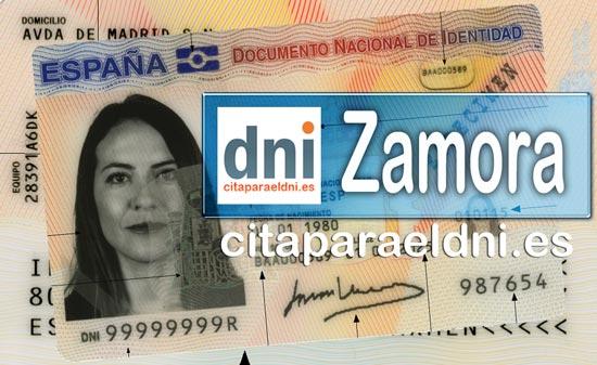 Cita previa DNI Zamora – Oficina DNI y Pasaporte - Para obtener por primera vez o renovar el DNI y el pasaporte