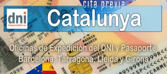 Oficines del DNI i Passaport a Catalunya
