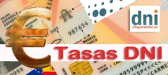 Tasas DNI y Pasaporte