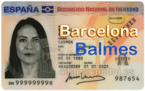Cita previa DNI Barcelona Balmes – Oficina DNI y Pasaporte - Para obtener por primera vez o renovar el DNI y el pasaporte