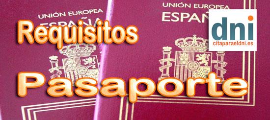 requisitos para obtener y renovar el Pasaporte en España y el extranjero