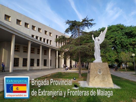 Brigada Provincial de Extranjería y Fronteras de Málaga