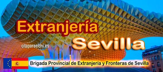 Brigada Provincial de Extranjería y Fronteras de Sevilla Te Informamos de los tramites que puedes realizar y la dirección, teléfono y cita previa extranjeria Sevilla si es necesaria