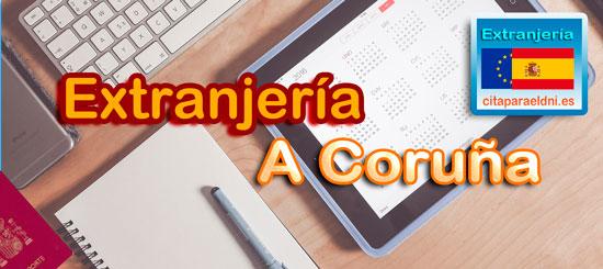 Extranjería en A Coruña Te informamos de los tramites que puedes realizar y la dirección, teléfono y cita previa extranjeria A Coruña si es necesaria