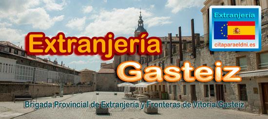Brigada Provincial de Extranjería y Fronteras de Vitoria/Gasteiz Te Informamos de los tramites que puedes realizar y la dirección, teléfono y cita previa extranjeria si es necesaria