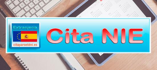 Cita Previa NIE - Cita para el Número de Identidad de Extranjero (NIE) por teléfono y CIta NIE por Internet