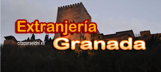 Oficinas de extranjería en Granada, Baza y Motril