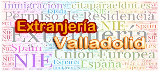 Oficina de Extranjería de Valladolid (Foreign Office Valladolid)