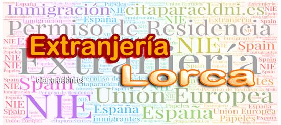 Extranjería en Lorca Te informamos de los tramites que puedes realizar y la dirección, teléfono y cita previa extranjeria Lorca si es necesaria