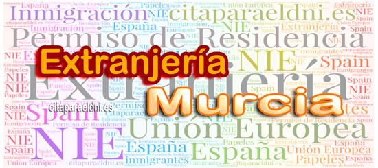 Extranjería en Murcia Te informamos de los tramites que puedes realizar y la dirección, teléfono y cita previa extranjeria Murcia si es necesaria