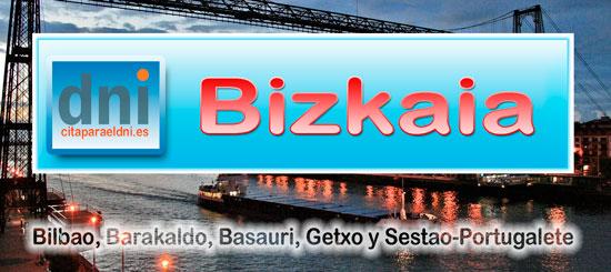 Oficinas DNI Bizkaia - Oficinas para el DNI y Pasaporte de Vizcaya en Bilbao, Barakaldo, Basauri, Getxo y Sestao-Portugalete con dirección, horario y cita previa para sacar y renovar DNI y Pasaporte