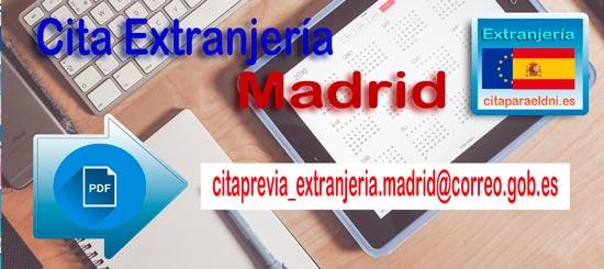 Como obtener Cita para Extranjeria en Madrid