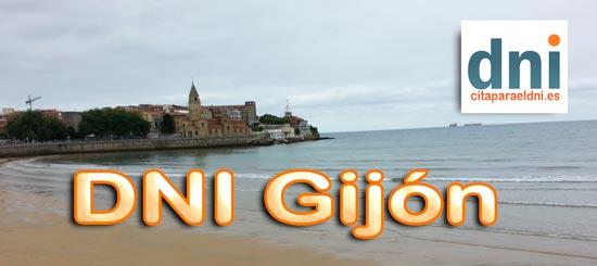 Cita previa para el DNI en Gijón – Oficina del DNI y Pasaporte - Para sacar por primera vez o renovar el DNI electronico, antiguo Carnet de Identidad, y el pasaporte