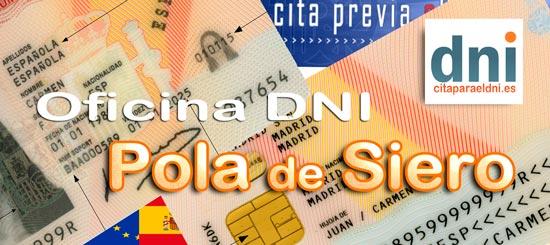 Cita previa para el DNI en Siero – Oficina del DNI y Pasaporte - Para sacar por primera vez o renovar el DNI electronico, antiguo Carnet de Identidad, y el pasaporte