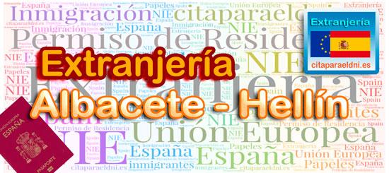 Oficinas de Extranjería de Albacete y Hellín - Te informamos de los tramites que puedes realizar y la dirección, teléfono y cita previa