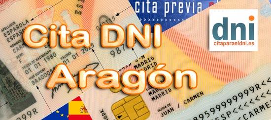 Lista de Oficinas de expedición del DNI y Pasaporte en Aragón