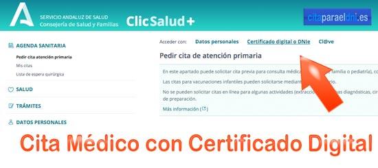 Con el Certificado digital puede realizar todo tipo de gestiones y descargar su historia clínica, pruebas, análisis o solicita cambio de medico