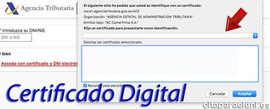 Con el Certificado digital puede realizar todo tipo de gestiones y descargar documentos en Hacienda