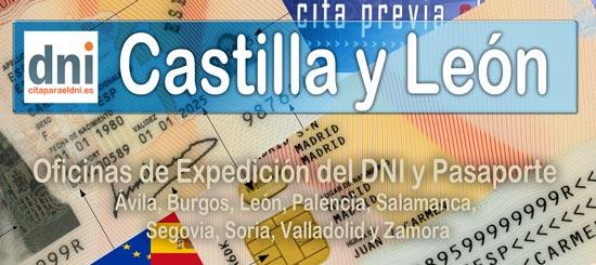 Oficinas DNI y Pasaporte en Castilla y León – Lista de Oficinas donde puedes solicitar y renovar el DNI y Pasaporte